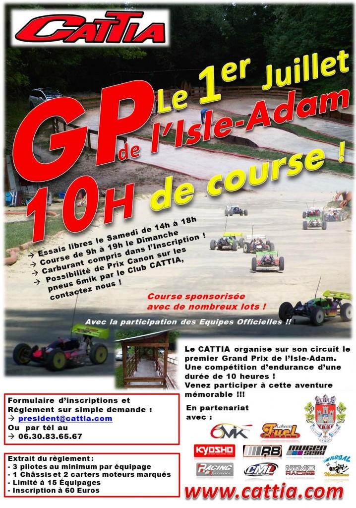 GP L'Isle Adam 2012 Endurance de 10 heures ANNONCE-GP-2012-GVP-718x1024